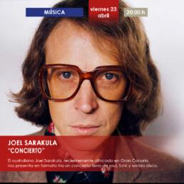 JOEL SARAKULA - CONCIERTO